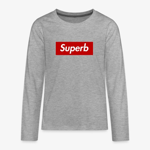 Superb - Teenager Premium Langarmshirt