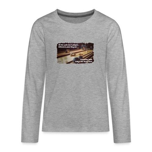 Shirt Screaming Walls - Teenager Premium shirt met lange mouwen