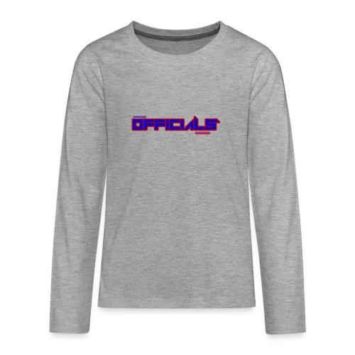 officials - Teenagers' Premium Longsleeve Shirt