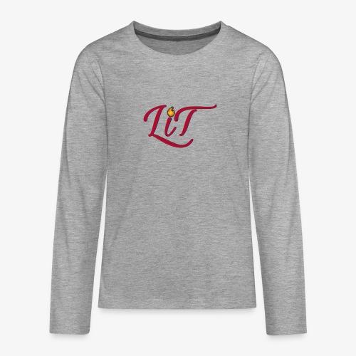 LiT CO Logo #1 - Teenagers' Premium Longsleeve Shirt