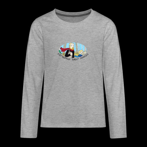 Fatherhood Badly Doodled - Teenagers' Premium Longsleeve Shirt