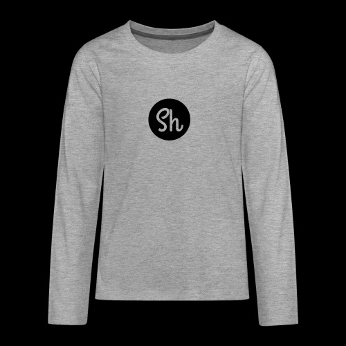 LOGO 2 - Teenagers' Premium Longsleeve Shirt