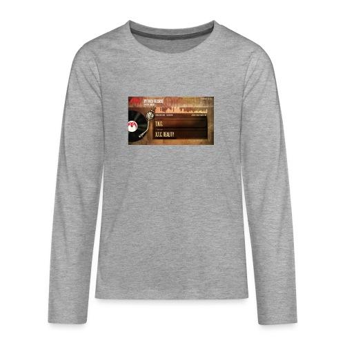 T.N.G. - X.T.C. Reality - Teenager Premium shirt met lange mouwen