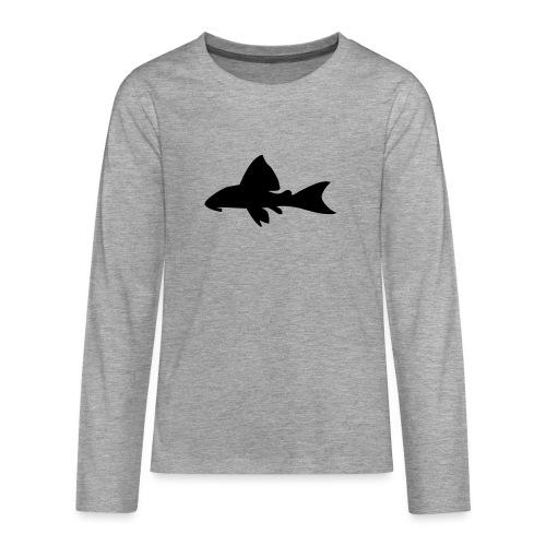 Malle - Premium langermet T-skjorte for tenåringer