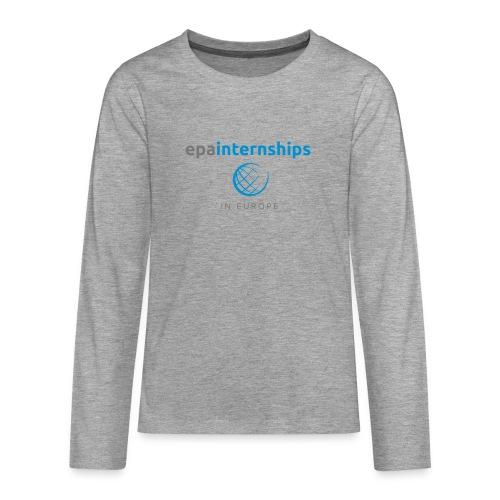 EPA Shirt Grey - Teenagers' Premium Longsleeve Shirt
