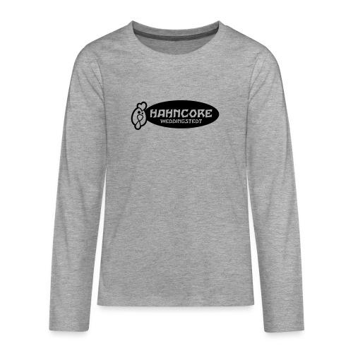 hahncore_sw_nur - Teenager Premium Langarmshirt