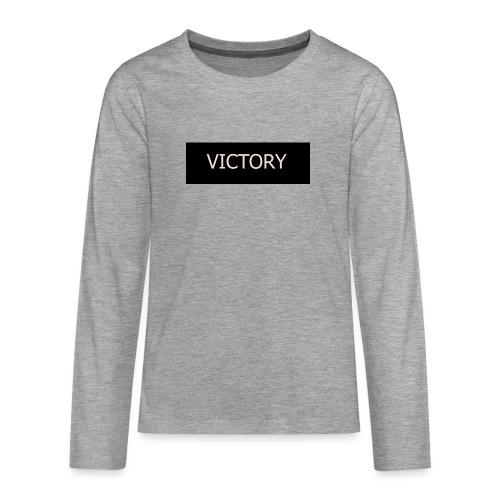 VICTORY - Teenagers' Premium Longsleeve Shirt