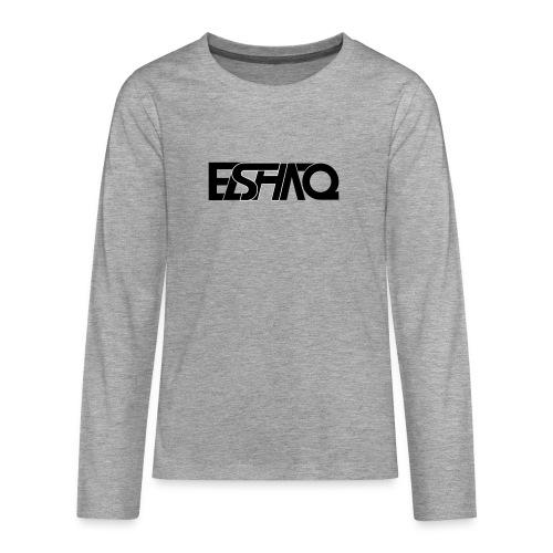 elshaq black - Teenagers' Premium Longsleeve Shirt