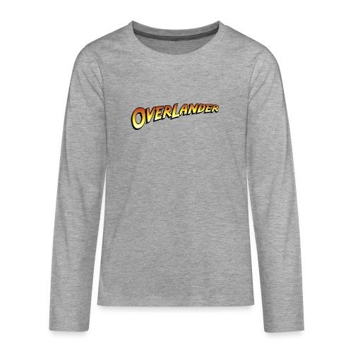 overlander0 - Premium langermet T-skjorte for tenåringer