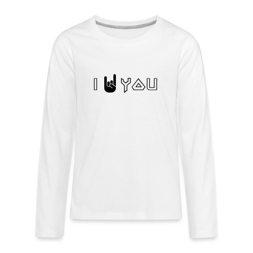 i rock you - Teenager Premium shirt met lange mouwen