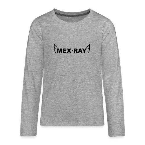 Black full - Teenager Premium shirt met lange mouwen