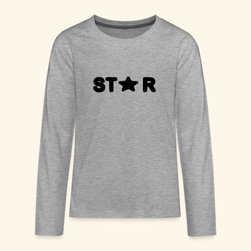 Star of Stars - Teenagers' Premium Longsleeve Shirt