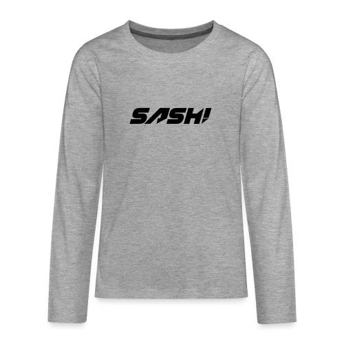 SASH! Filled Logo - Teenagers' Premium Longsleeve Shirt