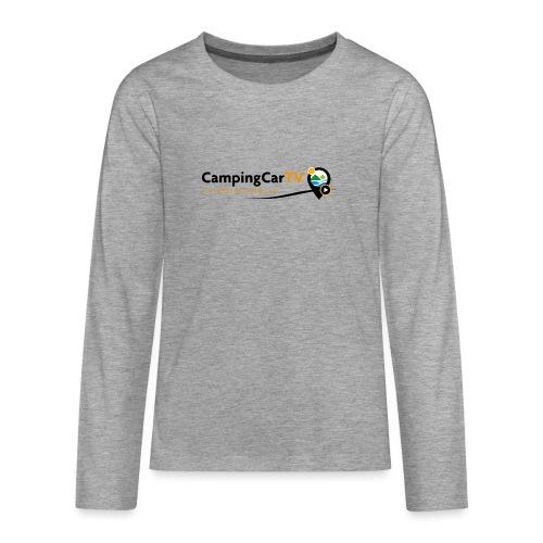 LOGO CCTV - T-shirt manches longues Premium Ado