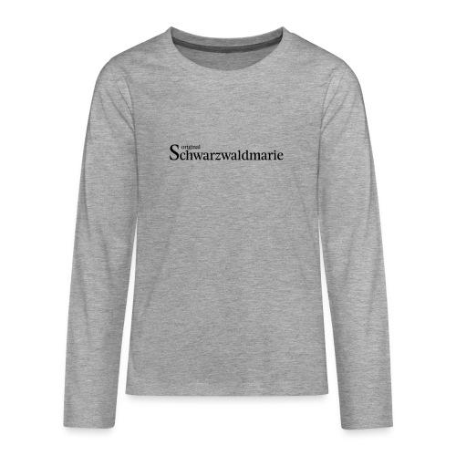 Schwarzwaldmarie - Teenager Premium Langarmshirt