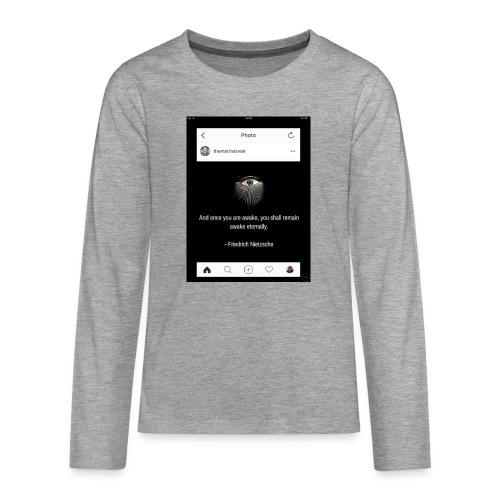 81F94047 B66E 4D6C 81E0 34B662128780 - Teenagers' Premium Longsleeve Shirt
