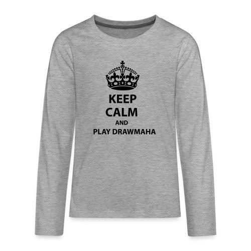 Play Drawmaha - Långärmad premium T-shirt tonåring
