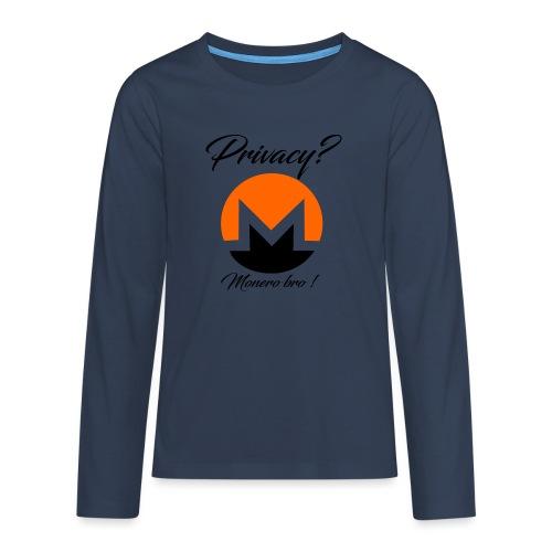 Moneroooo - T-shirt manches longues Premium Ado