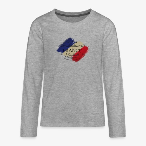 France Football - Teenager Premium Langarmshirt
