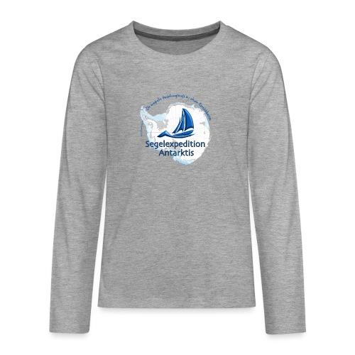 segelexpedition antarktis3 - Teenager Premium Langarmshirt