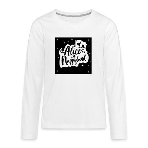 Alice in Nappyland 1 - Teenagers' Premium Longsleeve Shirt