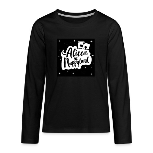 Alice in Nappyland 1 - Teenagers' Premium Longsleeve Shirt
