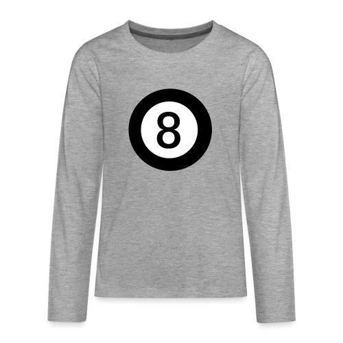 Black 8 - Teenagers' Premium Longsleeve Shirt