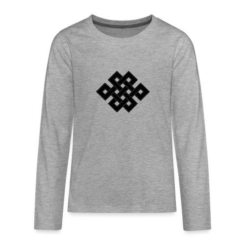 nodo buddha - Maglietta Premium a manica lunga per teenager