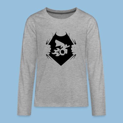 Wheelchair shirt 001 - Teenager Premium shirt met lange mouwen