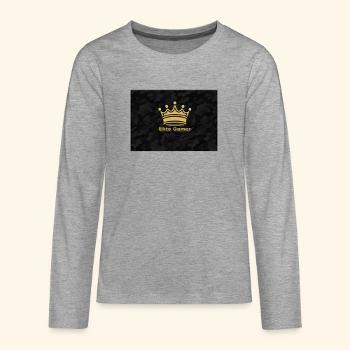 youtube design - Teenagers' Premium Longsleeve Shirt