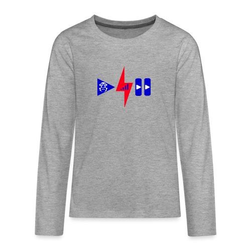 Luis Cid R - Camiseta de manga larga premium adolescente