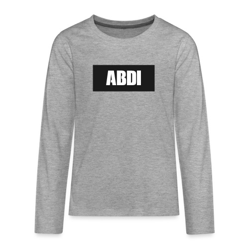 Abdi - Teenagers' Premium Longsleeve Shirt