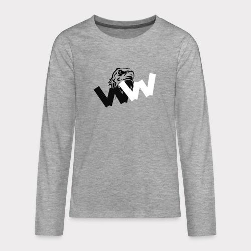 WEIGHTLESS - Teenagers' Premium Longsleeve Shirt