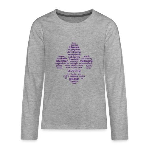 scouting is - Teenagers' Premium Longsleeve Shirt