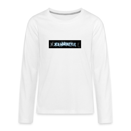 DerHardstyle ONE - Teenager Premium Langarmshirt