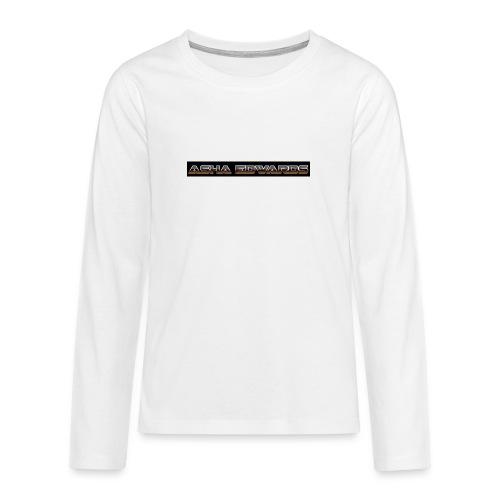 Asha_Edwards_Merch_ - Teenagers' Premium Longsleeve Shirt