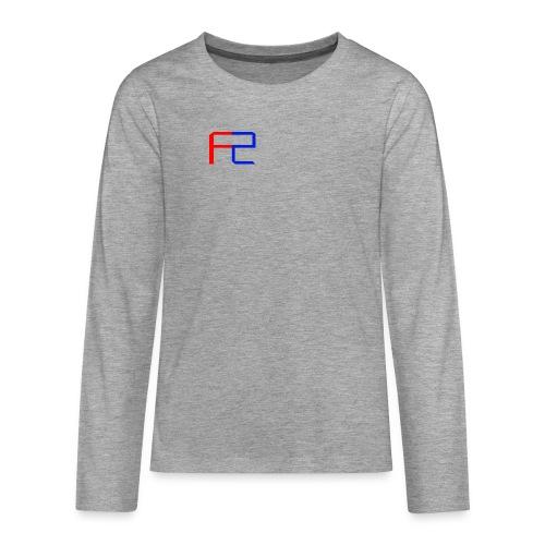 Merch Logo Design - Upper Left - T-Shirt - Teenagers' Premium Longsleeve Shirt