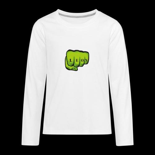 Leon Fist Merchandise - Teenagers' Premium Longsleeve Shirt