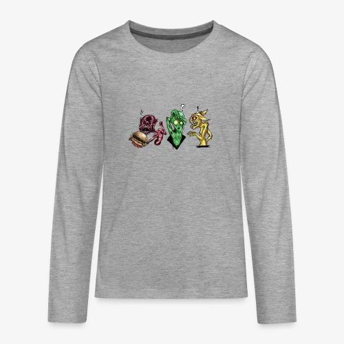 Weird communication - T-shirt manches longues Premium Ado