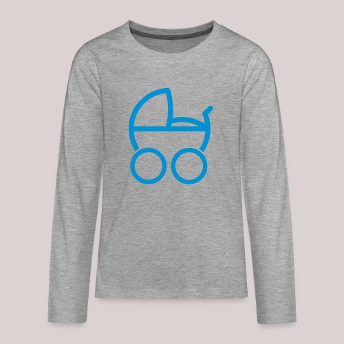 Baby boy Kinderwagen baby buggy - Teenager Premium Langarmshirt