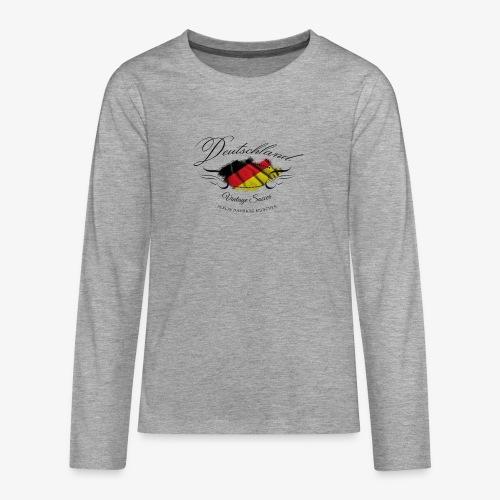 Vintage Deutschland - Teenager Premium Langarmshirt