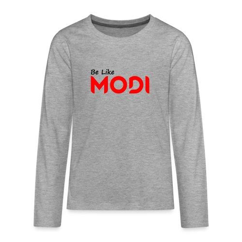 Be Like MoDi - Koszulka Premium z długim rękawem dla nastolatków