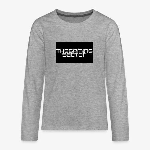 TheGamingSector Merchandise - Teenagers' Premium Longsleeve Shirt