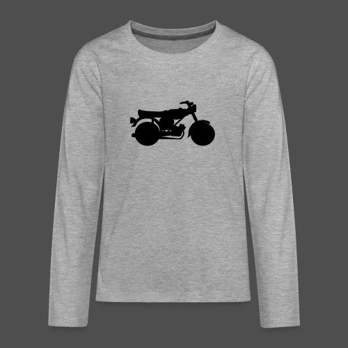 Moped 0MP01 - Teenager Premium Langarmshirt