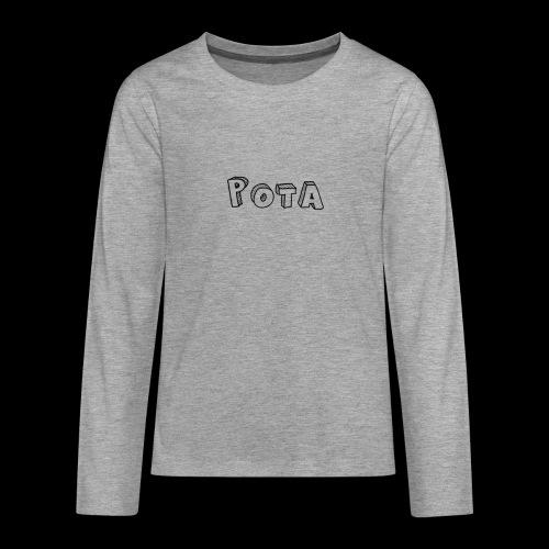 pota1 - Maglietta Premium a manica lunga per teenager