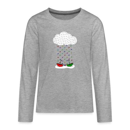 Sweet rain - Camiseta de manga larga premium adolescente