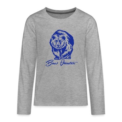 Bear Bowhunter - Teenager Premium Langarmshirt
