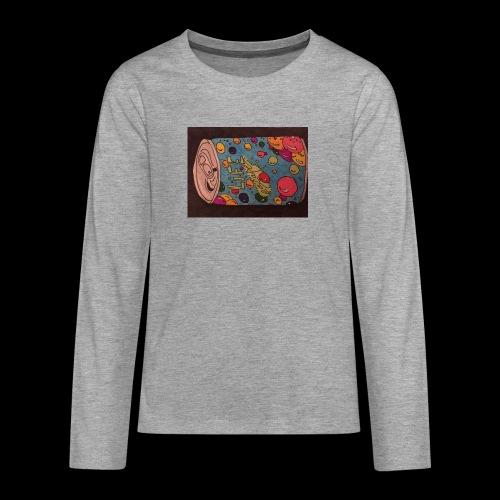 7AABC614 53CA 4156 B765 D9FBF5B8E496 - Teenager premium T-shirt med lange ærmer