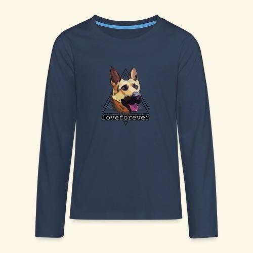 SHEPHERD LOVE FOREVER - Camiseta de manga larga premium adolescente