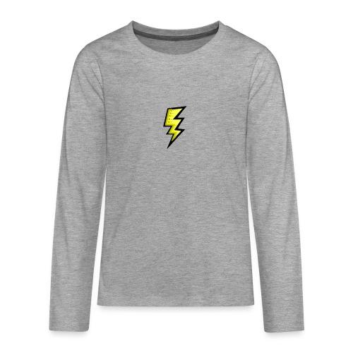 bliksem - Teenager Premium shirt met lange mouwen
